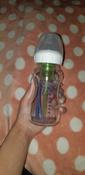 Стеклянная бутылочка Dr. Brown's с широким горлышком, антиколиковая, с силиконовой соской, 270 мл #13, Егорцева П.