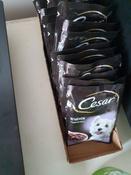 Корм консервированный Cesar, для взрослых собак, с ягненком в сырном соусе, 28 шт по 85 г #4, Оксана К.