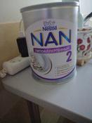 Заменитель грудного молока NAN Optipro HA, гипоаллергенный 2, для профилактики аллергии, с 6 месяцев, 800 г #8, Олеся П.