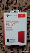 1 ТБ Внешний жесткий диск Seagate Backup Plus Slim (STHN1000403), красный #4, Бахтырев Юрий Васильевич