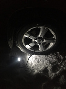 Компрессор автомобильный Q3 Stvol, металлический со светодиодным фонарем, 40 л/мин, 12В, 10А, с сумкой #4, Михаил М.