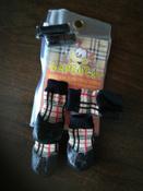 Обувь для собак БАРБОСки Носки для прогулки, клетка, размер XXS #4, Лилия Р.