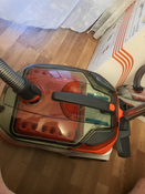 Бытовой пылесос Thomas DryBox + AquaBox Cat & Dog, оранжевый, белый #12, Вадим Примаков