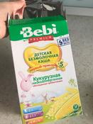 Bebi Премиум каша Кукурузная низкоаллергенная с пребиотиками, с 5 месяцев, 200 г #6, Екатерина Бабкова