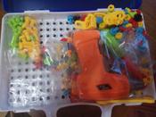 Конструктор для мальчиков и девочек/ Конструктор мозаика с шуруповёртом дрелью/ Мозаика для детей 198 деталей  #2, Антон П.