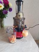 Соковыжималка Kitfort КТ-1106-1, цвет: красный #8, Эльза И.