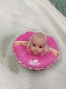 Круг надувной на шею для купания новорожденных и малышей Flipper Балерина от ROXY-KIDS #9, Лилия М.