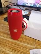 Портативная Bluetooth колонка TG-157, красный #4, Поживилова Н.