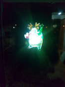 """Светодиодная фигура """"Олень"""" со сменой цвета на присоске 70x95x13 мм, цвет свечения: RGB #4, Александр К."""