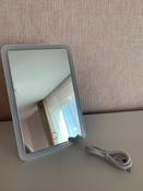 Gezatone Зеркало косметическое с подсветкой, цвет: белый, LM125 #15, Ксения У.