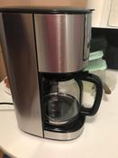 Кофеварка электрическая Капельная Kitfort KT-732, серебристый #11, Елена С.