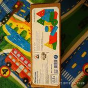 Краснокамская игрушка Набор строительных деталей Геометрик #1, Кристина