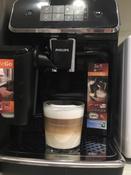 Автоматическая кофемашина Philips Series 2200 LatteGo EP2231/40, черный #12, Виолетта К.