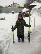 Комплект лыжный детский STC Set/Combi с универсальными креплениями и палками, 110 см #7, Александр М.