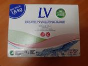 Концентрированный стиральный порошок LV, для цветного белья, 1,6 кг #8, Светлана А.