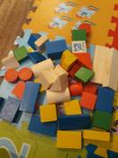 Деревянный конструктор Томик Цветной, игровой набор из 43 деталей #3, Анастасия К.