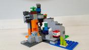 Конструктор LEGO Minecraft 21141 Пещера зомби #8, Никита А.