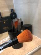 Набор кистей для макияжа черный12 шт + футляр подставка #4, Марк Р.