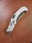 Нож универсальный складной 2 в 1 VIRA RAGE #15, Ева