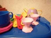 Полесье Набор игрушечной посуды Ретро 61683, цвет в ассортименте #2, Татьяна
