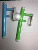 """Логопедическая игра-тренажер для развития речевого дыхания у детей """"Аэробол"""", развивающий набор из 2 дудочек с парящим шариком #5, Larisa L."""