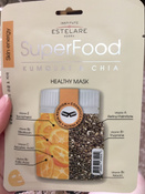 Institute Estelare Superfood Кумкват и Чиа Тканевая маска для лица, 3 шт х 25 г #1, Марина К.
