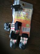 Обувь для собак БАРБОСки Носки для прогулки, клетка, размер XXS #3, Лилия Р.