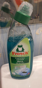 """Очиститель для унитазов """"Frosch"""", с ароматом мяты, 750 мл #6, Алла П."""