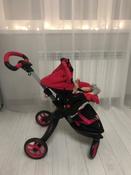 Детская игрушечная прогулочная коляска-трансформер Buggy Boom для кукол Aurora 9005 12-в-1 с люлькой-переноской #10, Светлана Т.