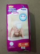 Подгузники-трусики Helen Harper Baby 12-18 кг (размер 5) 44 шт #10, Оксана С.