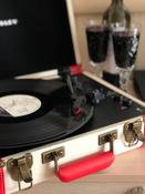 Проигрыватель виниловых дисков Crosley Executive Deluxe, белый, коралловый #3, Ирина Г.