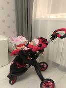 Детская игрушечная прогулочная коляска-трансформер Buggy Boom для кукол Aurora 9005 12-в-1 с люлькой-переноской #12, Светлана Т.