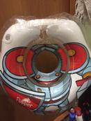 Круг надувной на шею для купания новорожденных и малышей Flipper Рыцарь от ROXY-KIDS #5, Елизавета Б.