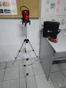 Уровень лазерный самовыравнивающийся DEKO LL57 SET 1 (5 линий, красный луч) #12,  Сергей