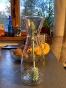 11024, Ёршик силиконовый Happy Baby для мытья бутылочек, pistachio #3, Марина В.
