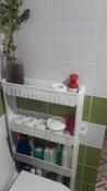 Полка для ванной комнаты #6, Марина И.