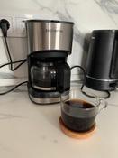 Кофеварка электрическая Капельная Polaris 658642, серый металлик, черный #12, Наталья К.