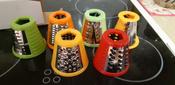 Измельчитель электрический Kitfort КТ-1382, белый, красный #9, Елена Г.
