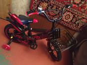 Детский велосипед Yibeigi V-12 красный #1, Анна Ж.