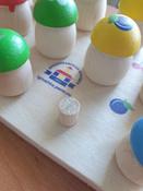 """Развивающая игрушка Краснокамская игрушка """"Грибочки"""", Н-60 #3, Надежда"""