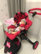 Детская игрушечная прогулочная коляска-трансформер Buggy Boom для кукол Aurora 9005 12-в-1 с люлькой-переноской #8, Светлана Т.