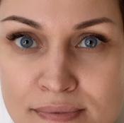 Цветные контактные линзы Alcon FreshLook Ежемесячные, -2.50 / 14,5, Аlcon FreshLook Colors Blue, 2 шт. #9, Оксана Щ.