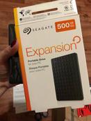 500 ГБ Внешний жесткий диск Seagate Expansion (STEA500400), черный #4, Анна Р.