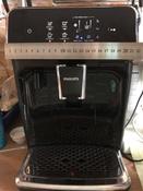 Автоматическая кофемашина Philips Series 2200 LatteGo EP2231/40, черный #8, Елена М.