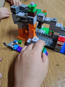 Конструктор LEGO Minecraft 21141 Пещера зомби #1, Анжелика Е.