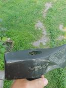 Топор - колун 4000 г с фиберглассовой рукояткой 87 см VIRA RAGE #2, Алексей С.
