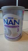 Молочко NAN 3 OPTIPRO гипоаллергенное, для здоровых детей, с 12 месяцев, 400 г #6, Екатерина ХБ