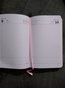 Ежедневник-планер (планинг) датированный на 2021 г. формата А5, Brauberg Profile, балакрон, светло-розовый #9, Шилина Анна