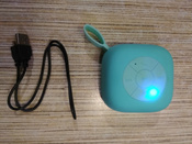 Портативная колонка iNeez IK-02 Wireless Enjoy series,912516,бирюзовый #3, Наталья М.