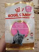 "Корм сухой Royal Canin ""British Shorthair Kitten"", для британских короткошерстных котят в возрасте от 4 до 12 месяцев, 400 г #12, Анна М."